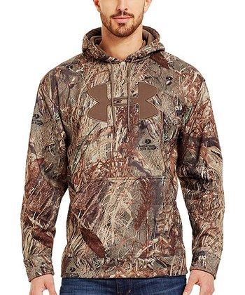 Duck Blind Armour® Fleece Storm Big Logo Camo Hoodie - Men