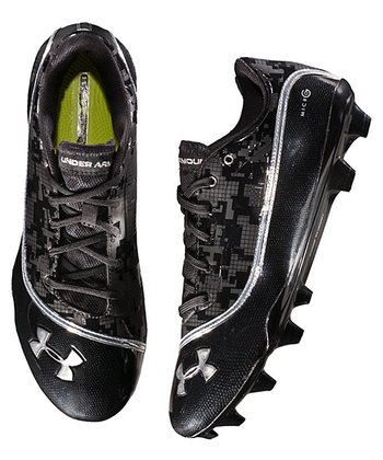 Black Blur Low MC Football Cleats Soccer Shoe