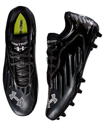 Black Nitro Diablo Low MC Football Cleats Soccer Shoe