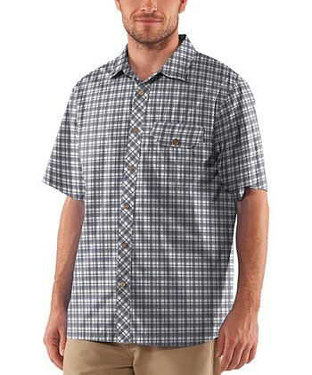 Cyclone Charged Cotton® Plaid Button-Up - Men