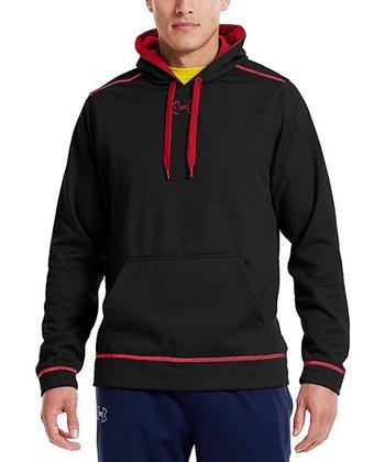 Black & Red Men's UA Tech™ Hoodie - Men