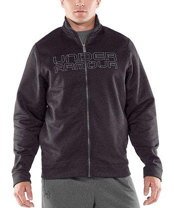 Carbon Heather Armour® Storm Zip-Up Jacket - Men
