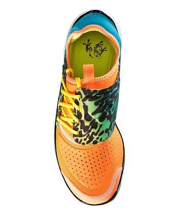 Blaze Orange Micro G® Toxic Six Running Shoe