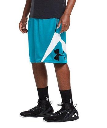 Pirate Blue EZ Mon-Knee Basketball Shorts - Men & Tall