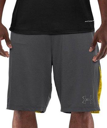 Graphite Coldblack® 2-A-Day Football Shorts - Men & Tall