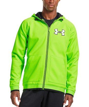 Hyper Green Armour® Fleece Storm Ugottahaveit Hoodie - Men