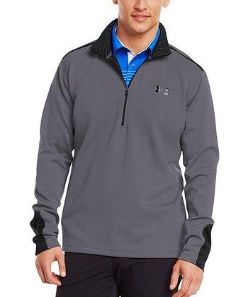 Graphite Coldgear® Infrared Thermo Golf Half-Zip Pullover - Men & Tall