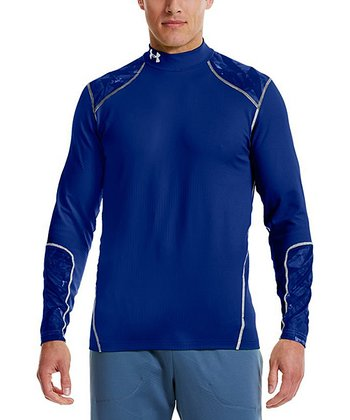 Royal ColdGear® Infrared Evo Fitted Mock Neck Top - Men & Tall