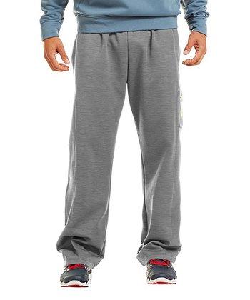 True Gray Heather Armour® Fleece Storm Cargo Pocket Pants - Men