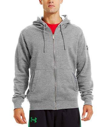 True Gray Charged Cotton® Storm Zip-Up Hoodie - Men