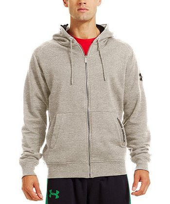 Oatmeal Heather Charged Cotton® Storm Zip-Up Hoodie - Men
