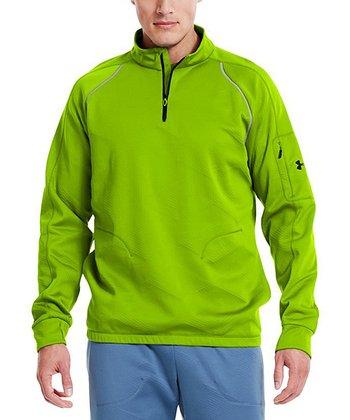Hyper Green ColdGear® Infrared Survivor Jacket - Men & Tall