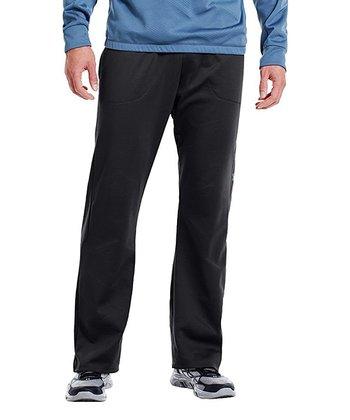 Black ColdGear® Infrared Survivor Warm-Up Pants - Men