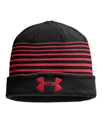 Red Switch It Up Reversible Beanie - Men