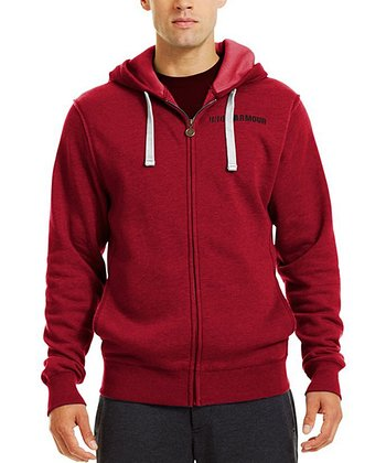Red Charged Cotton® Legacy Zip-Up Hoodie - Men & Tall