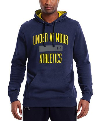 Midnight Navy Charged Cotton® Storm Battle Hoodie - Men