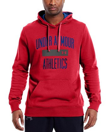 Red Charged Cotton® Storm Battle Hoodie - Men