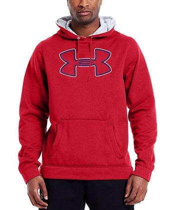 Red Armour® Fleece Storm Outline Hoodie - Men