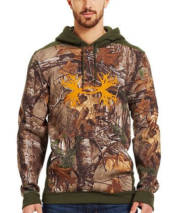Realtree Ap-Xtra Charged Cotton® Storm Camo Hoodie - Men