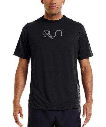 Black Run Reflective Tee - Men & Tall