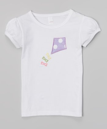 White Kite Tee - Infant, Toddler & Girls