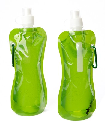 Green Pocket Bottle - Set of Two
