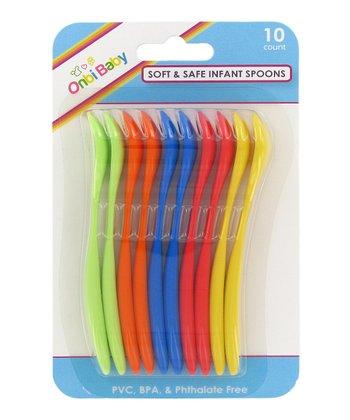 Safe & Soft Spoons - Set of 10