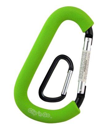 PBnJ baby Green Clip 'n' Go Carabineer & Mini Clip