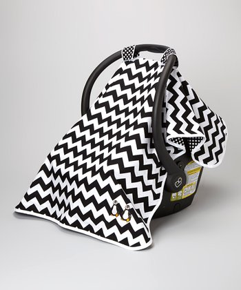 Posh Comforts Penguin Party Car Seat Canopy