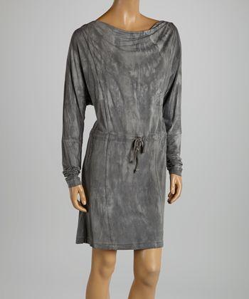 American Buddha by Yogi Stone Belted Drape Dress