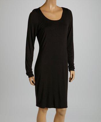 American Buddha by Yogi Black Cutout Dress