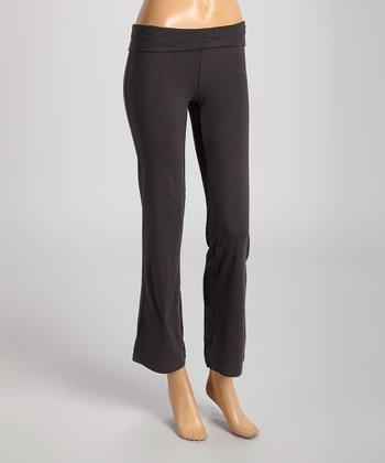 Charcoal Gray Yoga Pants