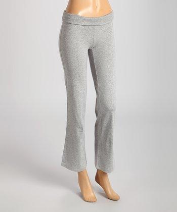 Heather Gray Yoga Pants