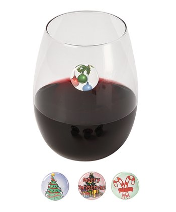 Dashing Wine Charm Set