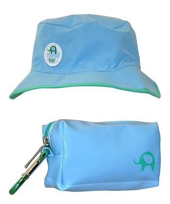 Light Blue Floppy Sunhat