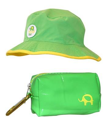Lime Green Floppy Sunhat