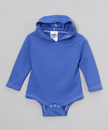 Kidz Stuff Blue Sun-Blocker™ Romper - Infant