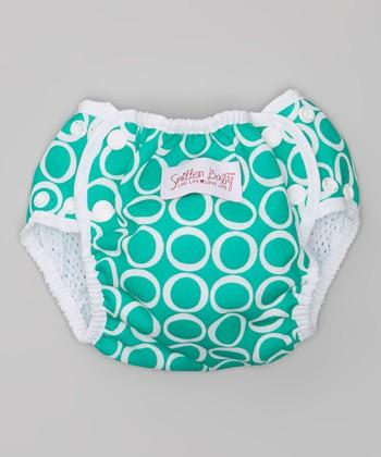 Smitten Baby Teal Time Swim Diaper