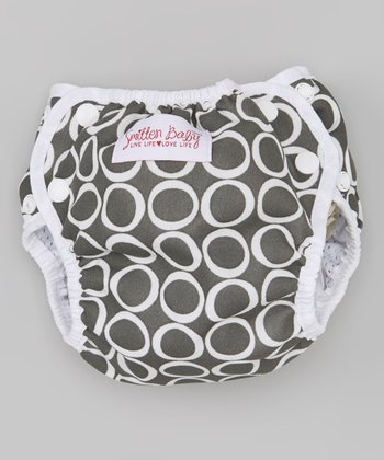 Smitten Baby Pewter Swim Diaper