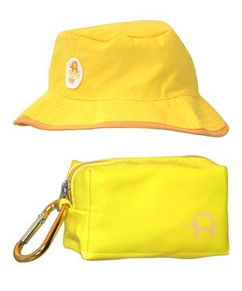 Yellow Floppy Sun Hat