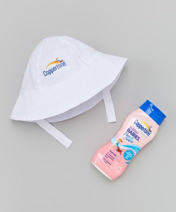 Coppertone Pure & Simple Sunscreen Lotion & Bucket Hat