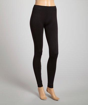 Black Color Wise Leggings