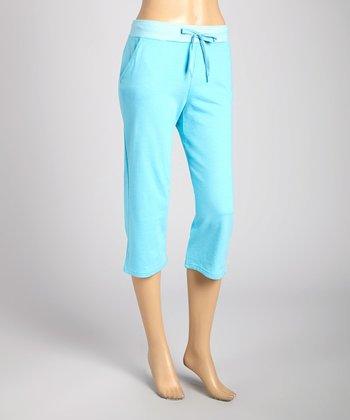 Silverwear Light Blue Lounge Bermuda Shorts