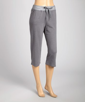 Silverwear Gray Lounge Bermuda Shorts