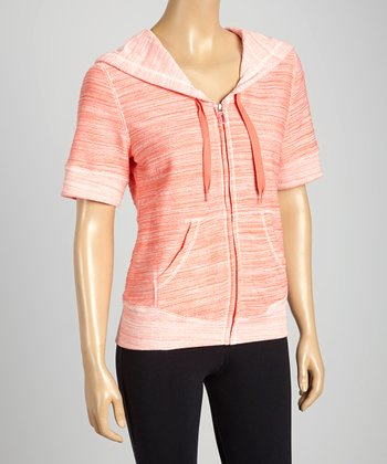 Silverwear Coral Zip-Up Hoodie