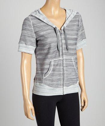 Silverwear Gray Zip-Up Hoodie