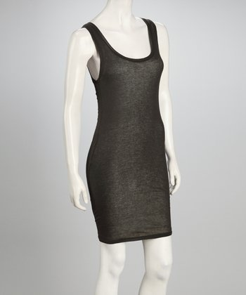 Ashen Sleeveless Dress