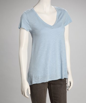 Blue Jean V-Neck Top