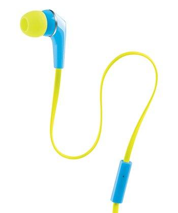 Teal & Yellow Urban Beats Equinox Earbuds