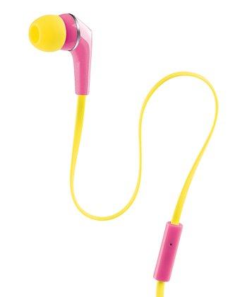 Rose, Pink & Yellow Urban Beats Equinox Earbuds